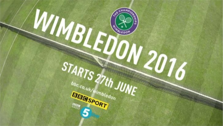 Wimbledon 2016 – Live TV Coverage on BBC, Eurosport